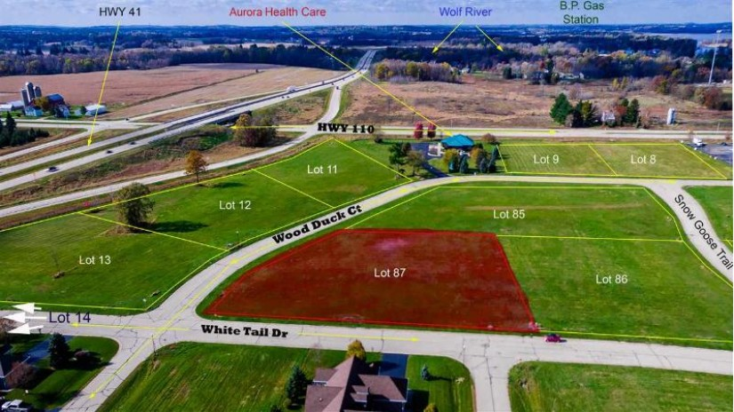 WOOD DUCK Drive Fremont, WI 54940 by Rieckmann Real Estate Group, Inc $69,000