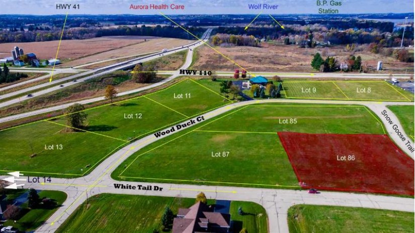 SNOW GOOSE Trail Fremont, WI 54940 by Rieckmann Real Estate Group, Inc $49,000