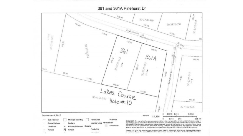 361/361a Pinehurst Dr Rome, WI 54457 by First Weber Inc $44,000