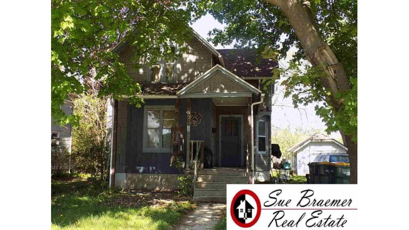 648 S Center St Beaver Dam, WI 53916 by Sue Braemer Real Estate, Llc $63,200